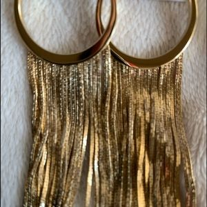 Michael kors long earrings